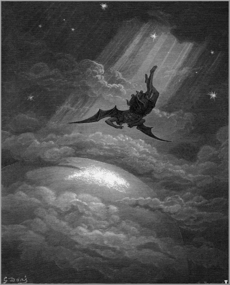 Gustave Dore, Lucifer
