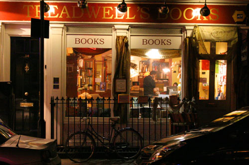 Treadwells Bookshop