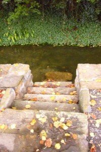 Stair to Moat