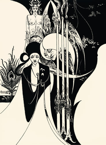 The Neophyt by Aubrey Beardsley
