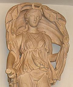 Goddess's veil dance