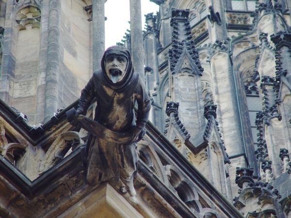 Gargoyle on St. Vitus Cathedral