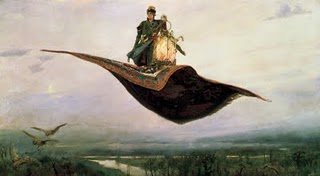 Victor Vasnetsov - The Magic Carpet